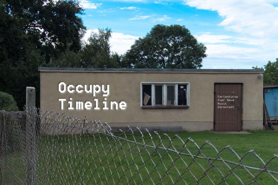 Occupy Timeline. Foto: Hufner