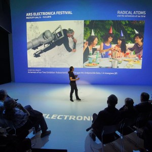 Ars Electronica 2016 – Press Tour, Solutions and doubts