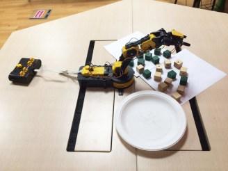 A robo-arm in action!