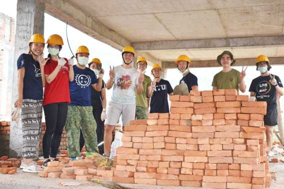 Making a difference, brick by brick.
