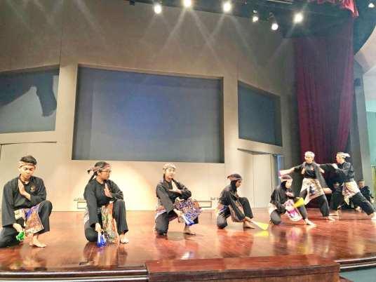 Silat (Malay Martial Arts) Performance by Nanyang Polytechnic students.