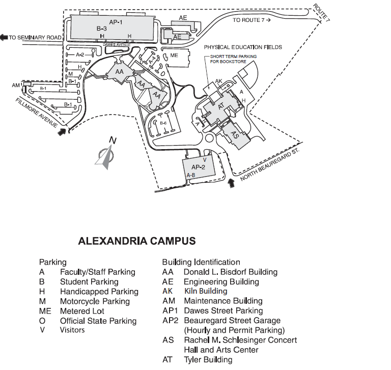 Nvcc Manassas Campus Map.Nvcc Alexandria Campus Map