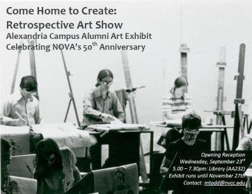 Art for 5oth Alexandria Campus