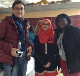 Alexandria students with Prof. Stantcheva