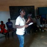 Prodencia teaching in Cameroon
