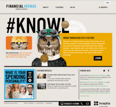 Financial Avenue Graphic