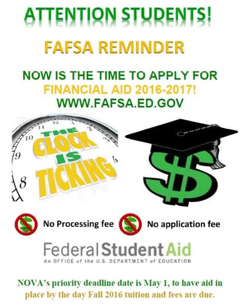 FAFSA Flyer 16-17