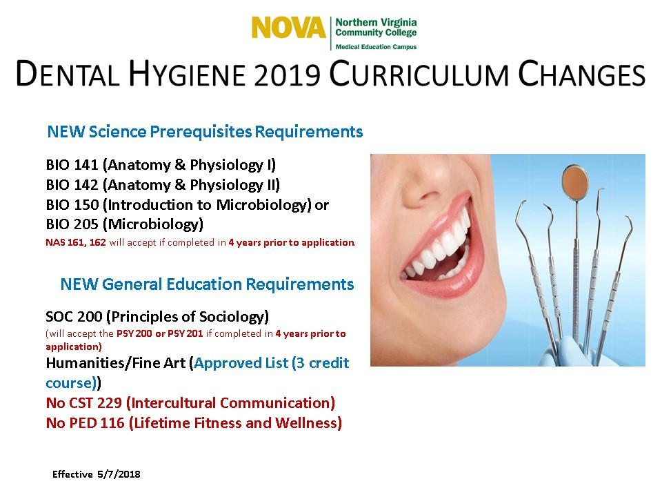 2019 Dental Hygiene Curriculum Changes | The MEC Exchange