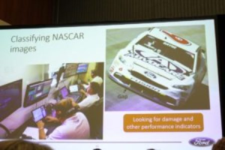 Classifying NASCAR images