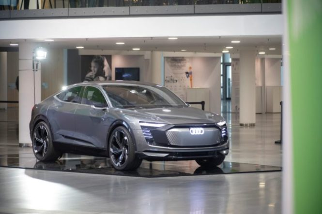 Audi Elaine at GTC Europe