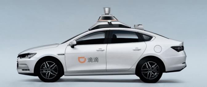 Didi level 4 autonomous vehicle