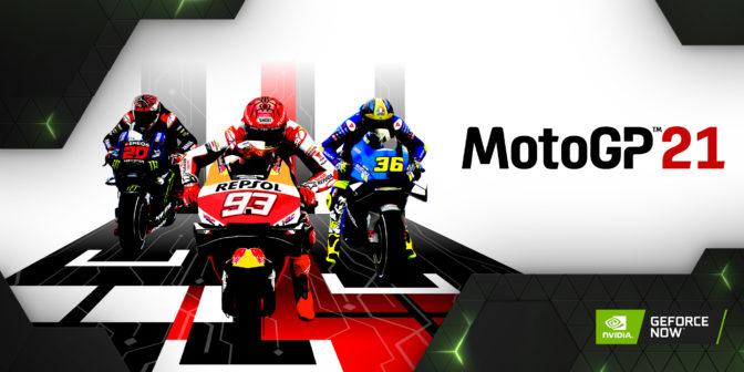 MotoGP21 on GeForce NOW
