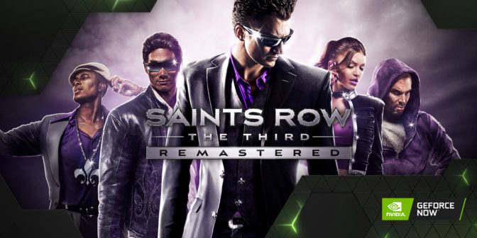 Saints Row The Third Remastered on GeForce NOW