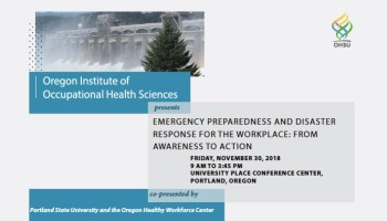Emergency preparedness webinars | Oregon and the Workplace