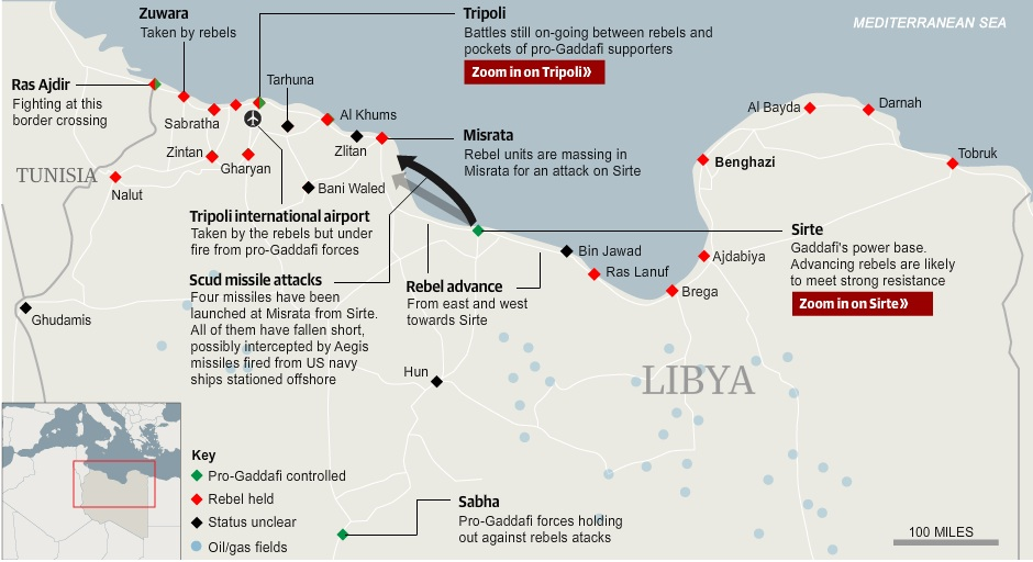 Did Libyan crisis mapping create usable military intelligence?