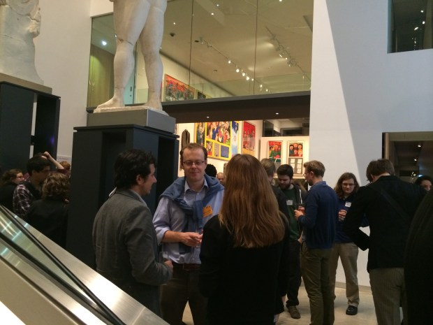 First evening reception (in the Ashmolean Museum) of the IPP2014 conference.