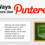 16 Ways Educators Can Use Pinterest infographic - thumbnail 1