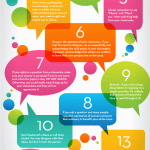 15 Rules Of Netiquette For Online Discussion Boards Infographic Online Education Blog Of Touro College