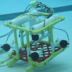 Example of a student-built ROV