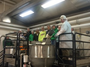 WHS students visit Oregon Freeze Dry