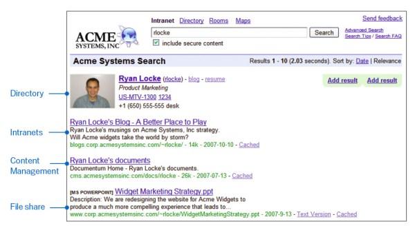 Google Search Appliance: Benefits for enterprise content ...