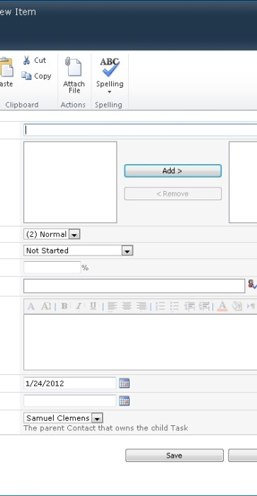 How to Make Parent-Child Lists and Forms in SharePoint 2010