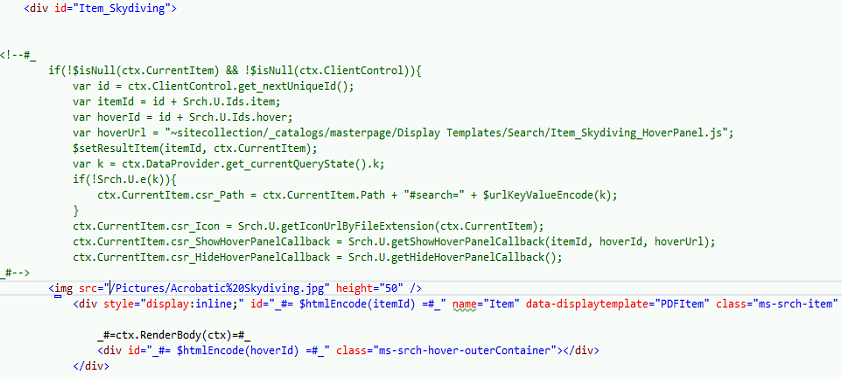 Sharepoint 2013 Search Part 4 Search Result Customization