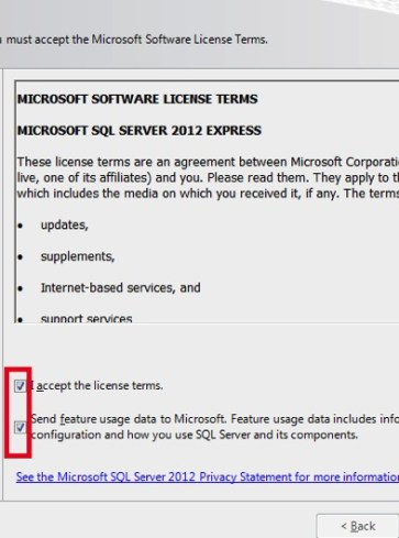 Install SQL Server 2012 Management Studio Express in Windows 7