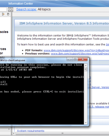 Step by Step Instruction on How to Install IBM's Infosphere