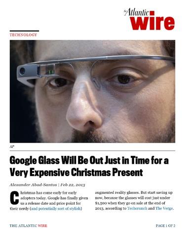 46b94545ec54 7 Healthcare Ideas for Google Glasses - Perficient Blogs