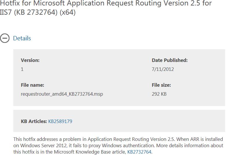 Important Server 2012 ARR Hotfix for Lync - Perficient Blogs