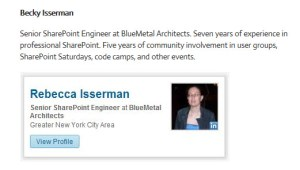 Becky Isserman