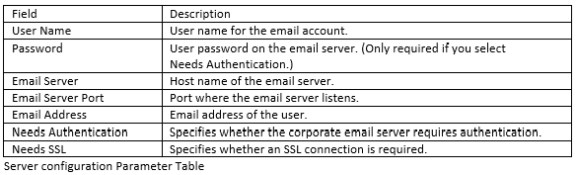 Setting Up Email Notifications in Oracle DAC Client and Server