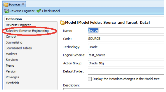 Creating an Oracle Data Integrator (ODI) Interface