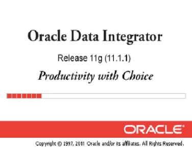 Types of Oracle Data Integrator (ODI) Repositories