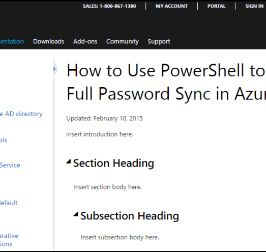 Office 365 - Azure AD Sync: Did You Know? - Perficient Blogs