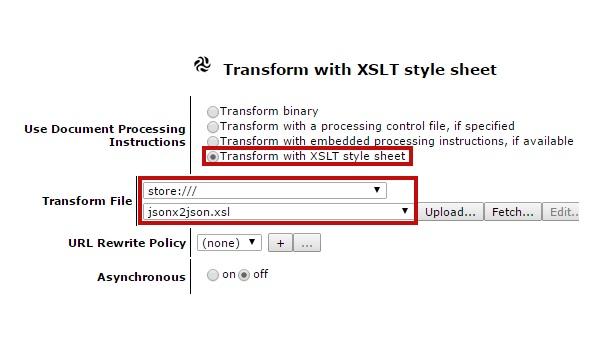 DataPower's handling of RESTful services via JSON