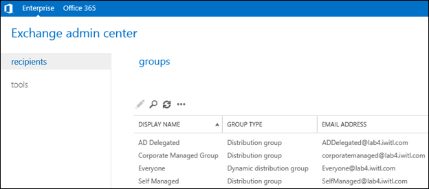 Office 365 - Allowing Users to Edit Exchange Groups They