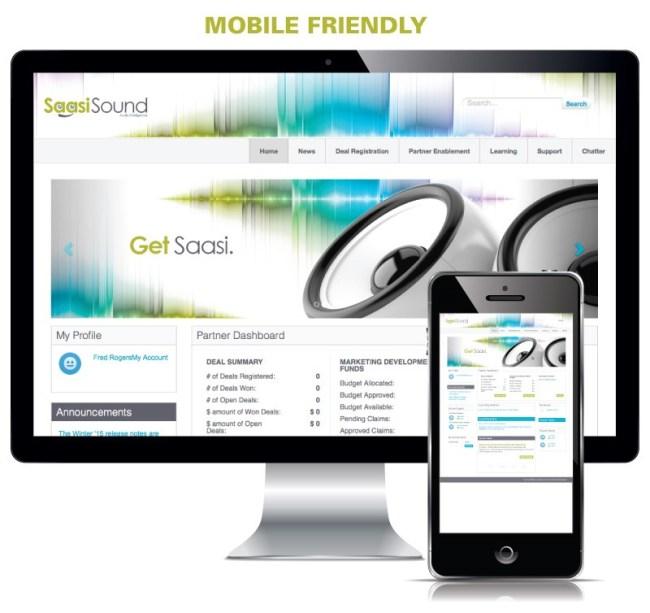Mobile friendly Salesforce Community Cloud