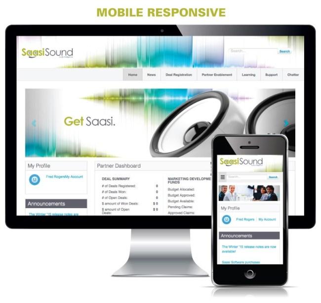 Mobile responsive Salesforce Community Cloud