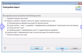 ODM 8.8 Migration Wizard