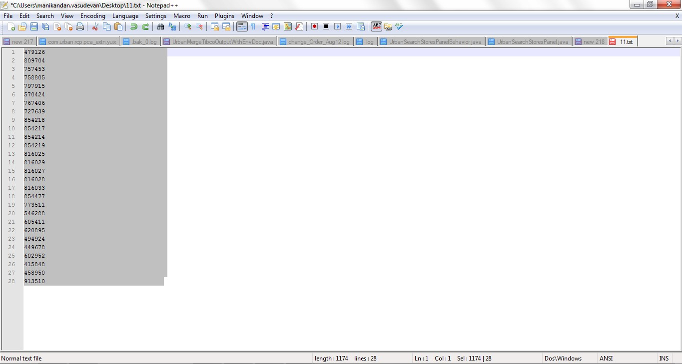 Tips and Tricks in Notepad++ - Perficient Blogs
