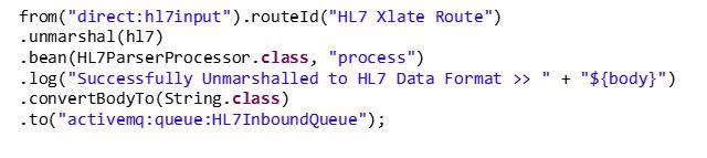 Handling HL7 Data Using Apache Camel and JBoss Fuse - Perficient Blogs