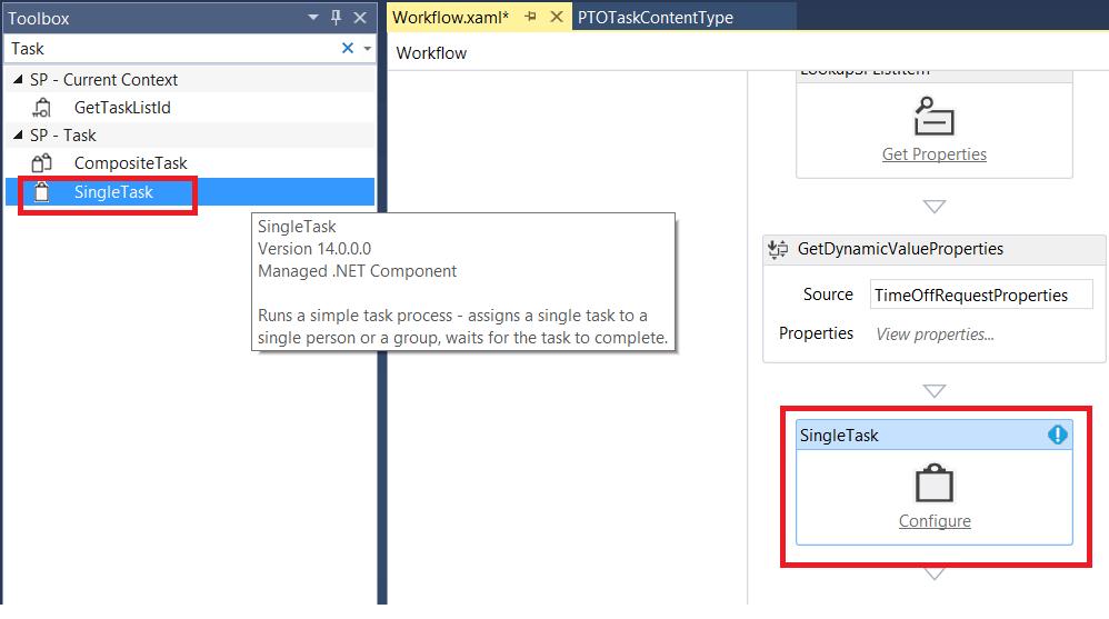 Design Workflow - Single Task
