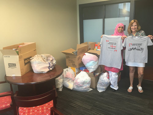Crisis Nursery donations from Perficient St. Louis