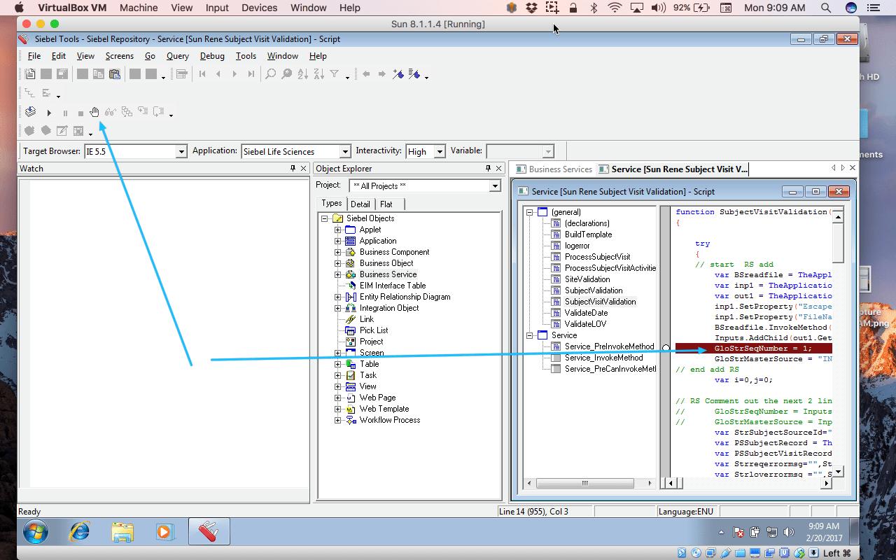 How To Debug Code In Siebel