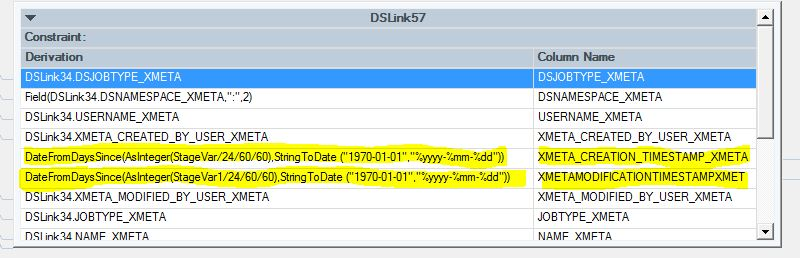 How to Convert a Unix Timestamp in Datastage - Perficient Blogs