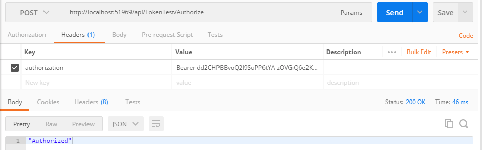 Token Based Authentication in Web API 2 via OWIN