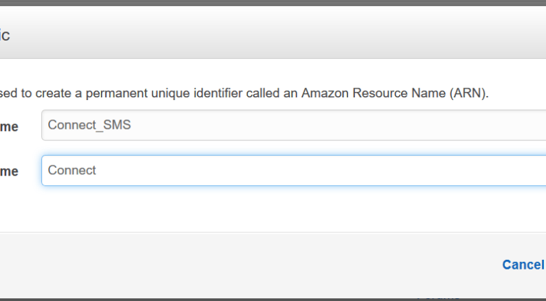 Amazon Connect SMS alerts using AWS services