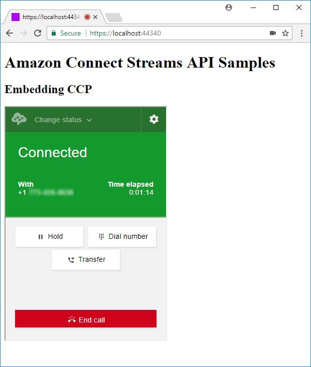 Intro to Amazon Connect Streams API – Part 1